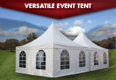 Pinnacle Range Event Marquees